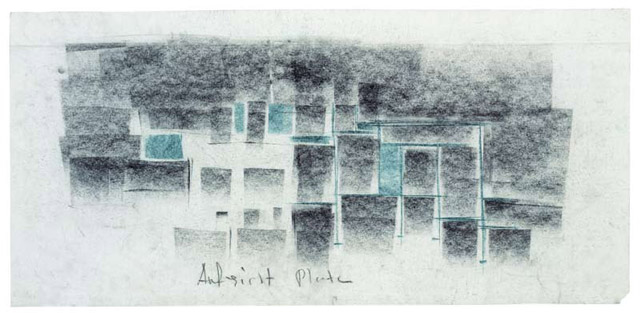 Landscape Architecture Drawing Watercolour
