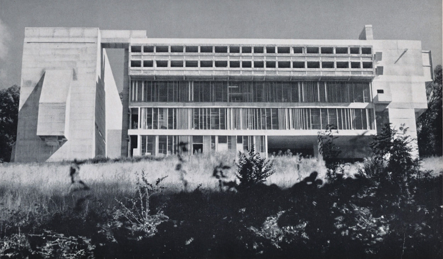 Fig. 1 Sainte Marie de La Tourette